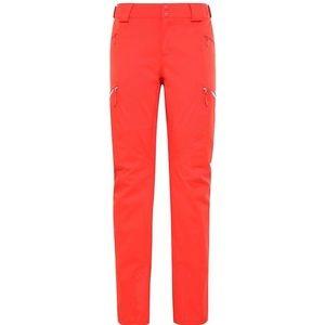 The North Face Lenado Ski Snow Pants Leg Fiery Red
